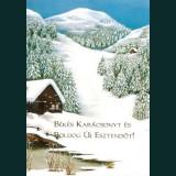 Karácsonyi képeslap - D8168
