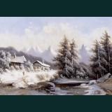 Karácsonyi képeslap - D8684