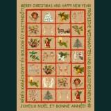 Karácsonyi képeslap - D8689