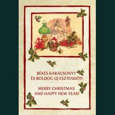 Karácsonyi képeslap-D8730
