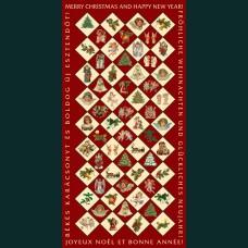 Karácsonyi képeslap-D8738